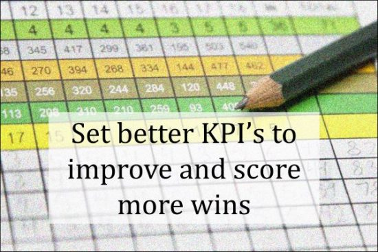 Set better KPIs to improve