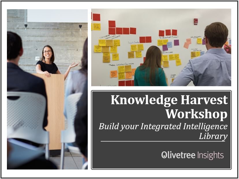 Knowledge Harvest Workshop